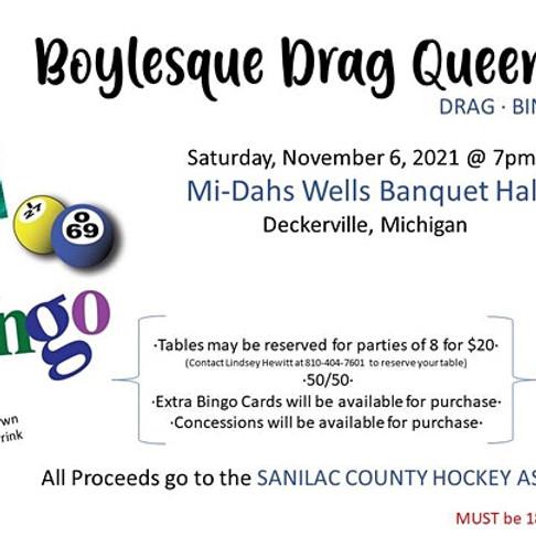 2nd Annual SCHA Drag Bingo!