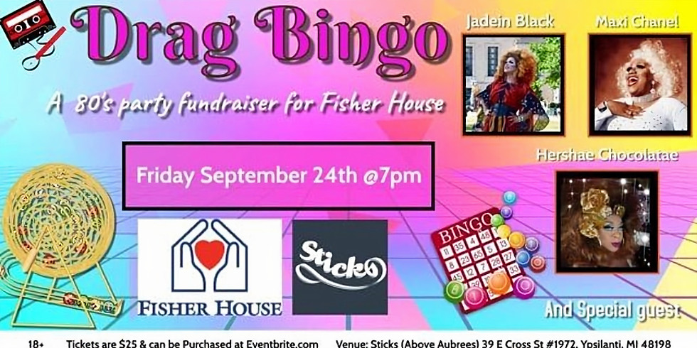 SOLD OUT - Boylesque Drag Bingo for Fisher House
