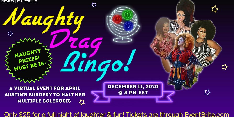 Virtual Naughty Drag Bingo to Halt MS!