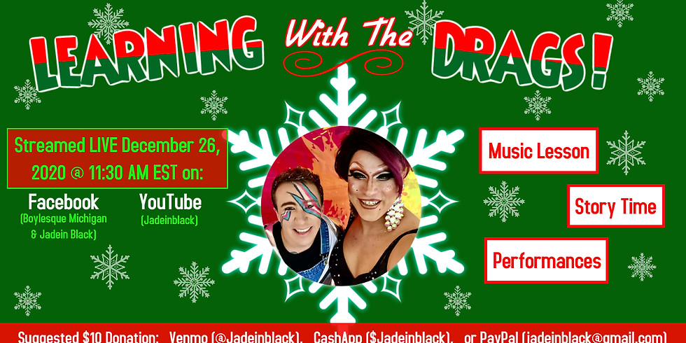 Family Friendly Drag Show - Holiday Edition!