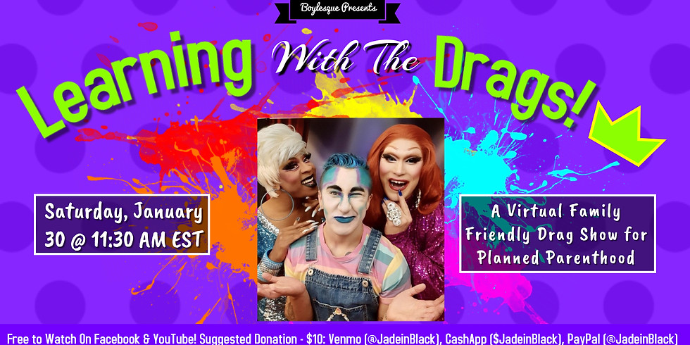 Family Friendly Drag Show for Planned Parenthood