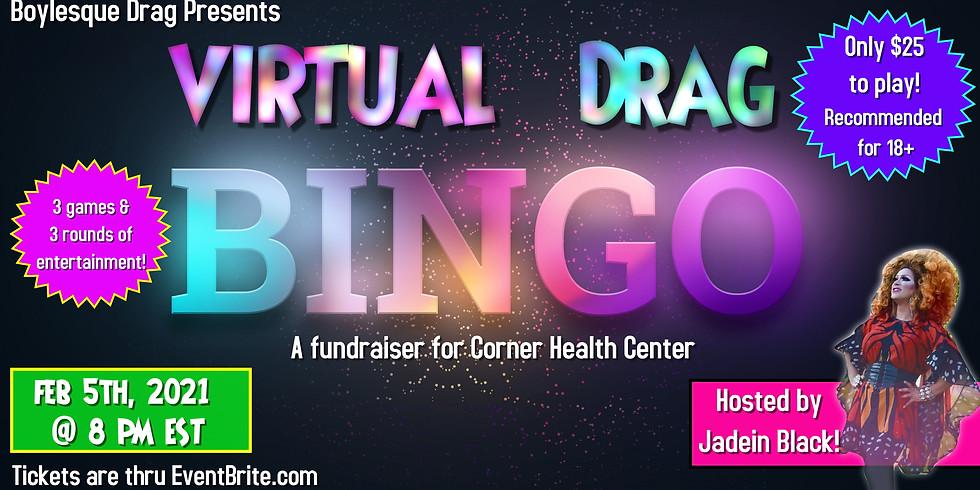 Virtual Drag Bingo for Corner Health Center