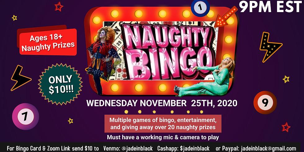Virtual Naughty Drag Bingo!