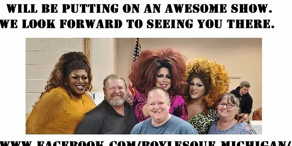 Boylesque Bingo hosted by Blankets with Care