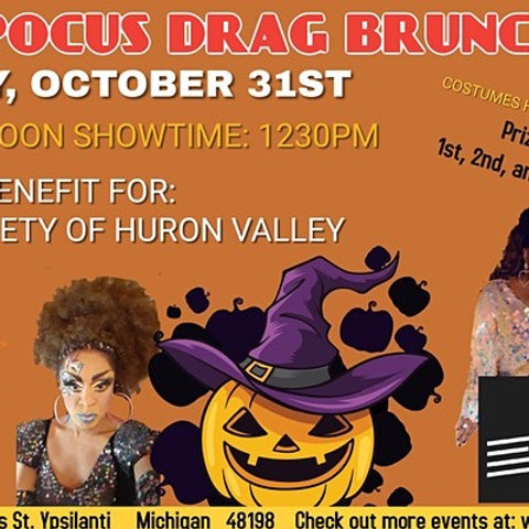 SOLD OUT - Hocus Pocus Drag Brunch for Humane Society of Huron Valley
