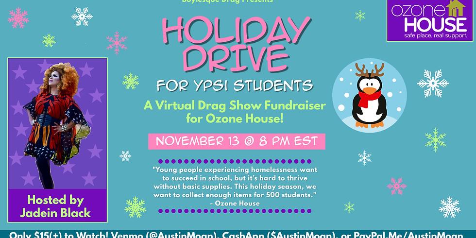 Boylesque Live Stream Drag Show for Ozone House