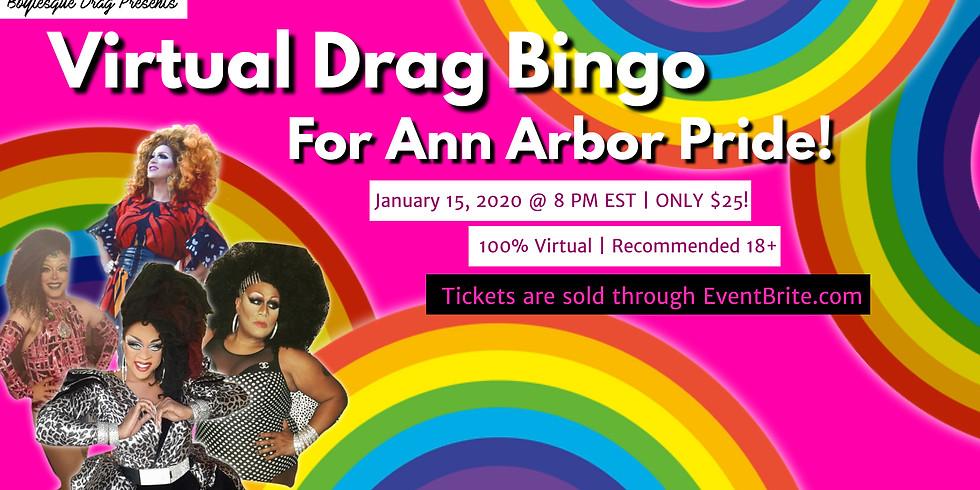 Boylesque Presents: Virtual Drag Bingo for Ann Arbor Pride