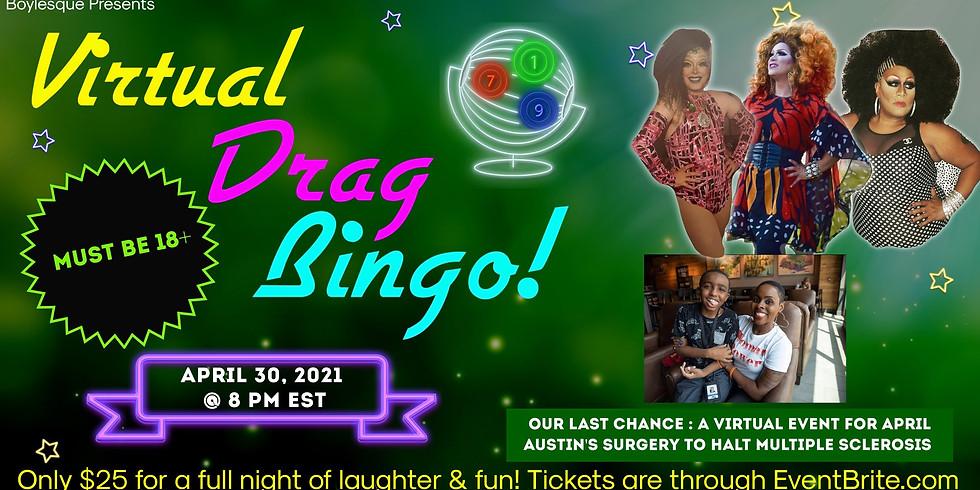 Boylesque Drag Presents: Virtual Drag Bingo to halt MS