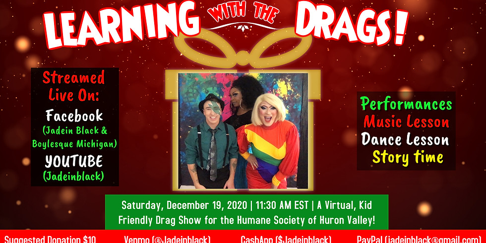 Family Friendly Drag Show for Humane Society of Huron Valley