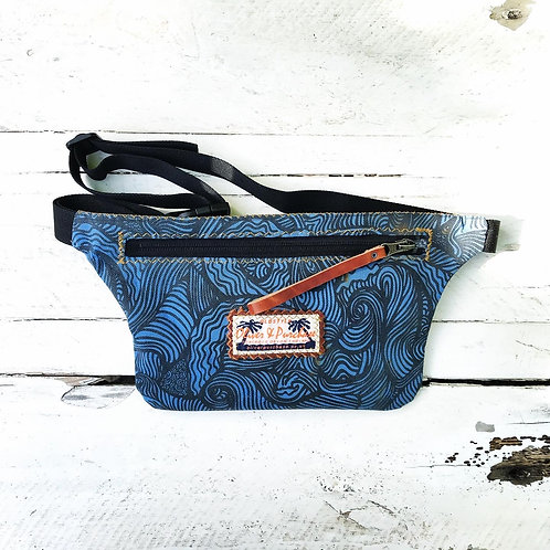 BLUE WAVE BUMBAG