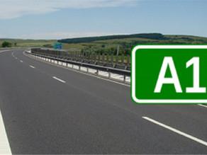 InfoTrafic: Restricții de circulație pe autostrada A1 Deva – Sebeș – Sibiu.
