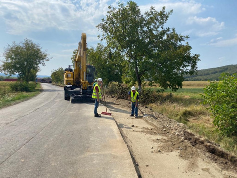 (FOTO) Au început lucrările la Culoarul Trafic Mureș Nord