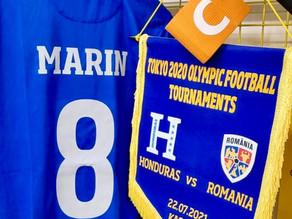 Naţionala de fotbal a României a învins Honduras cu 1-0 la Jocurile Olimpice de la Tokyo