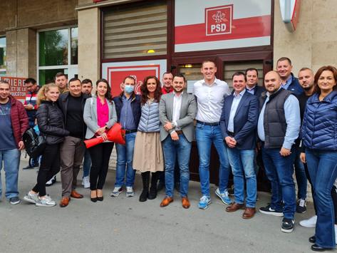 Alegeri interne la TSD Deva. Ștefan Tiriteu, noul președinte al organizației de tineret