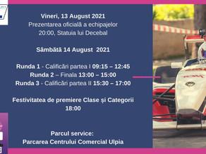 A III-a etapa a Campionatului National de Super Rally la Deva. 13-14 August