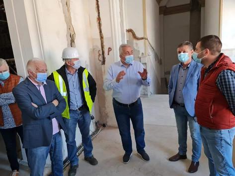 Costel Avram: Casa de cultură din Hunedoara - progres tehnic de peste 50%
