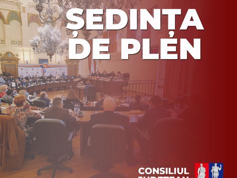 Consiliul Județean Hunedoara este convocat în ședință ordinară, cu următoarea Ordine de zi:
