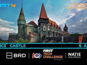 Robotics' Castle - 5 August la Castelul Corvinilor