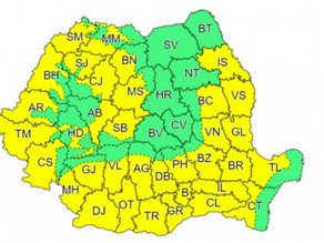 Val de caniculă în aproape toată țara, până sâmbătă. ANM a emis cod galben în 34 de județe