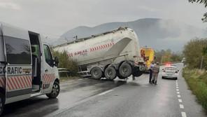 Accident pe DN7 la ZAM