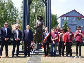 Iancu de Hunedoara, comemorat la Belgrad, de primarul Hunedoarei şi viceprimarul capitalei Serbiei