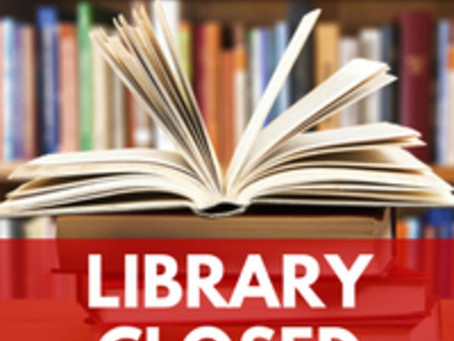 C.R.I.T Library Closed Temporarily until Further Notice