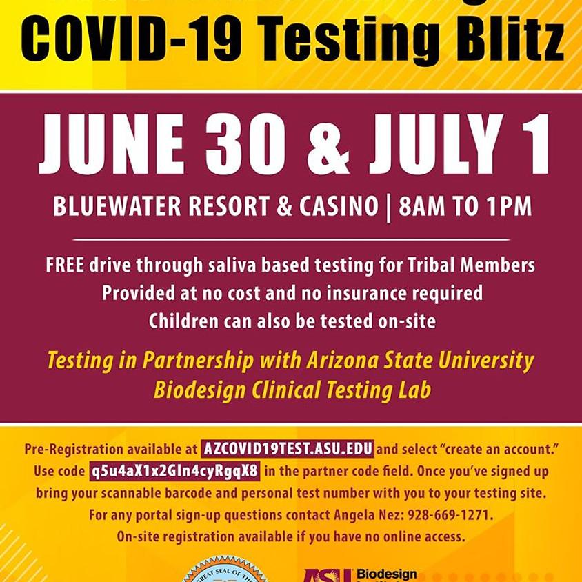 Free Drive Thru COVID-19 Testing Blitz