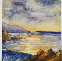 'The Sea in Cornwall'