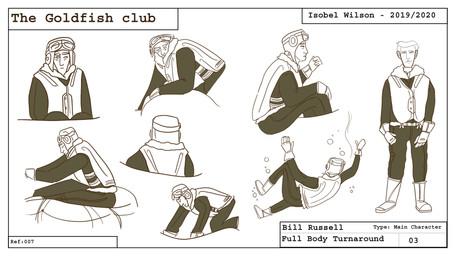 Bill pose sheet