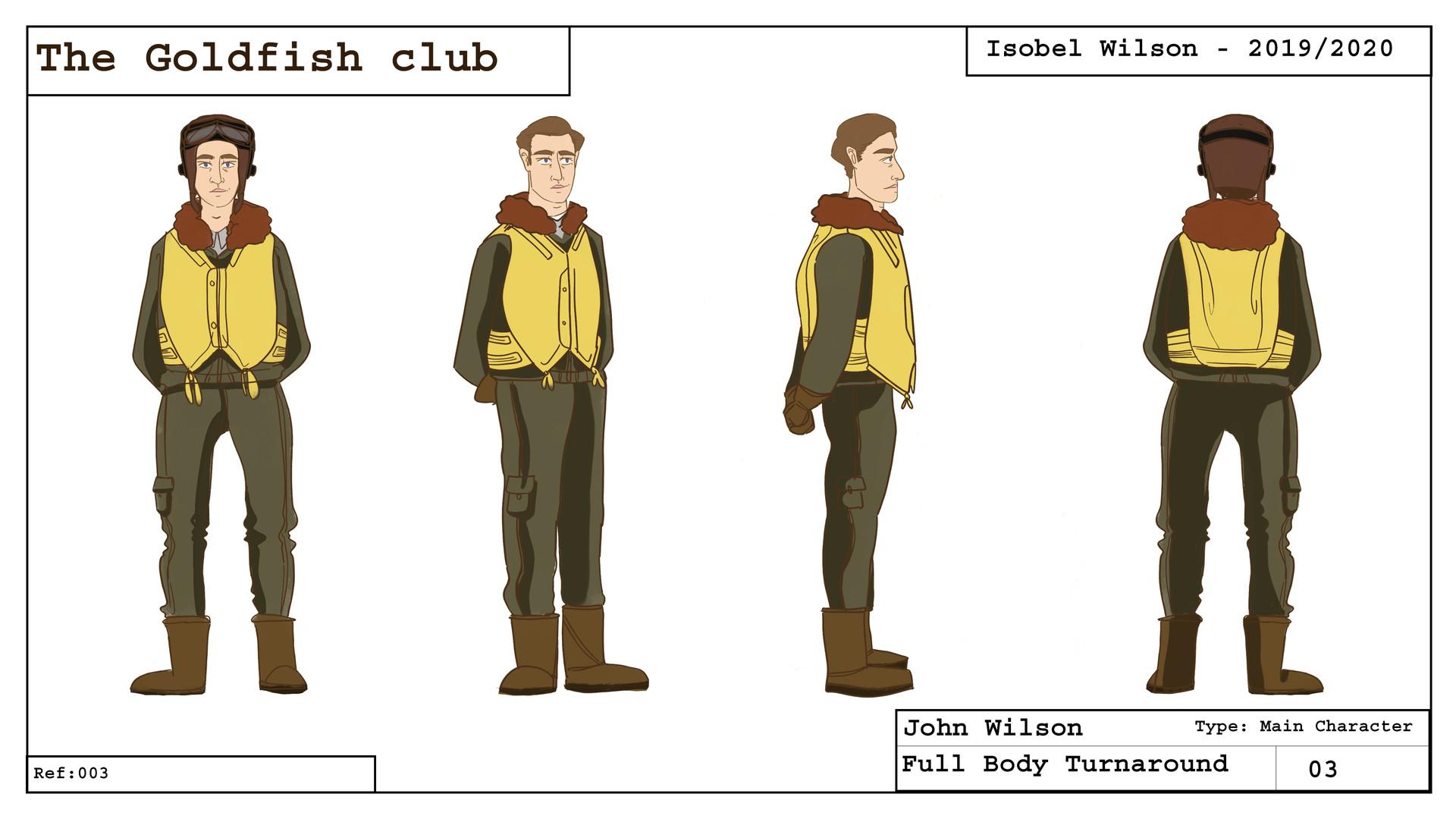 John - Character turnaround