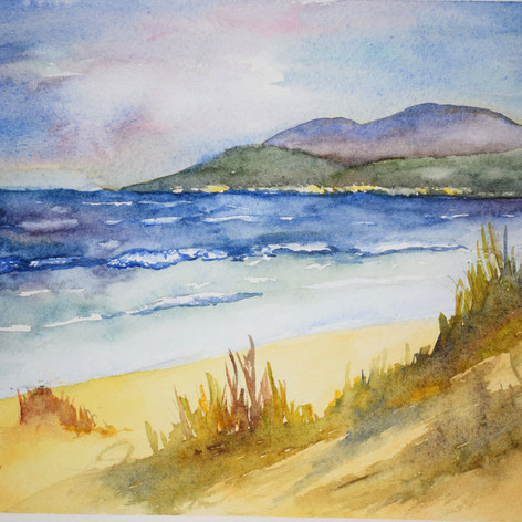 'A Welsh Beach'