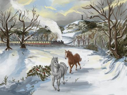 Ramsbottom in winter
