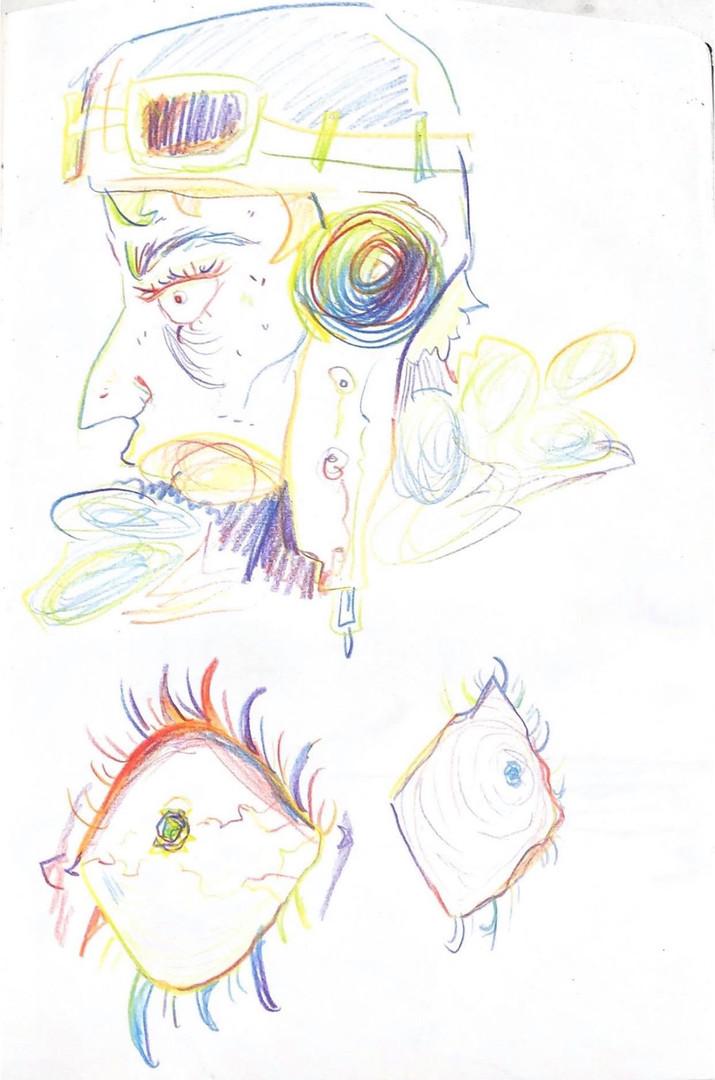 John - Experimental sketches