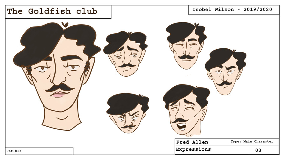 Fred expressions sheet
