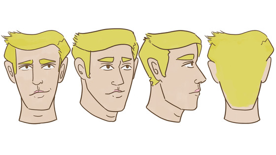 Finished my head turnarounds and light shots