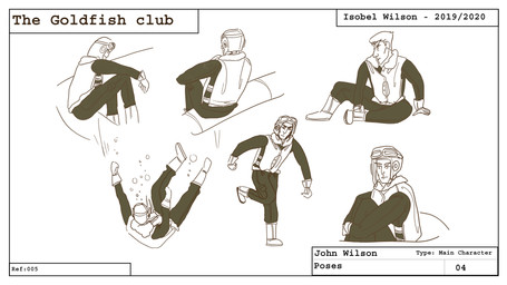 John Pose sheet