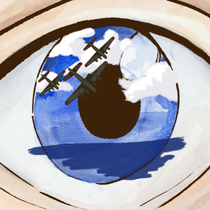 Reflection on the eye