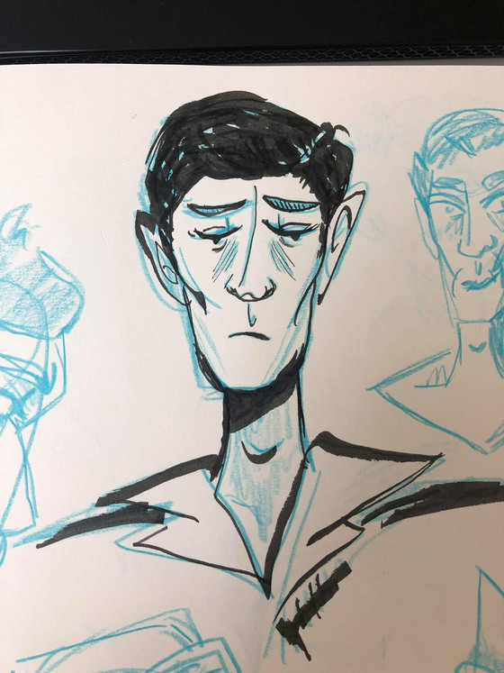 Character Designs - Roughs