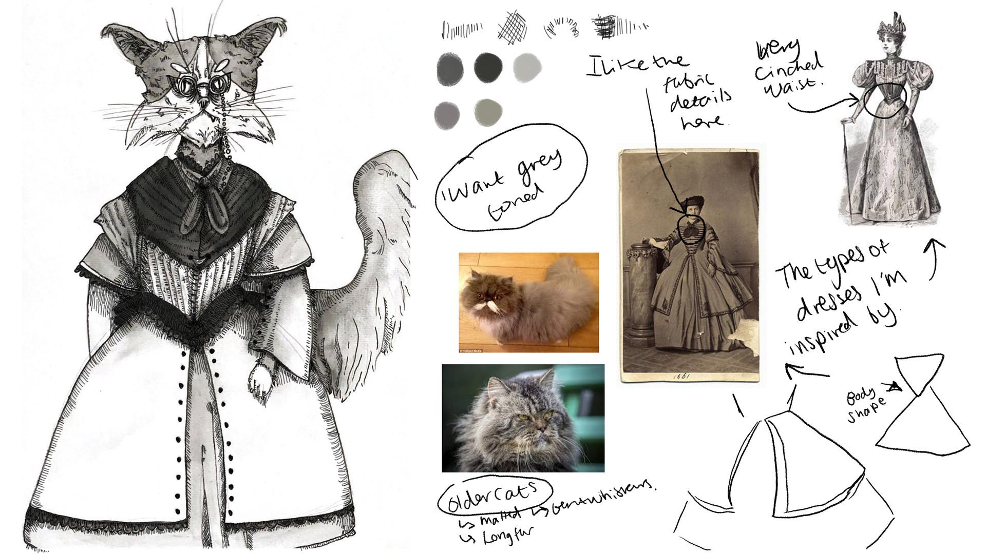 Costume and shape ideas