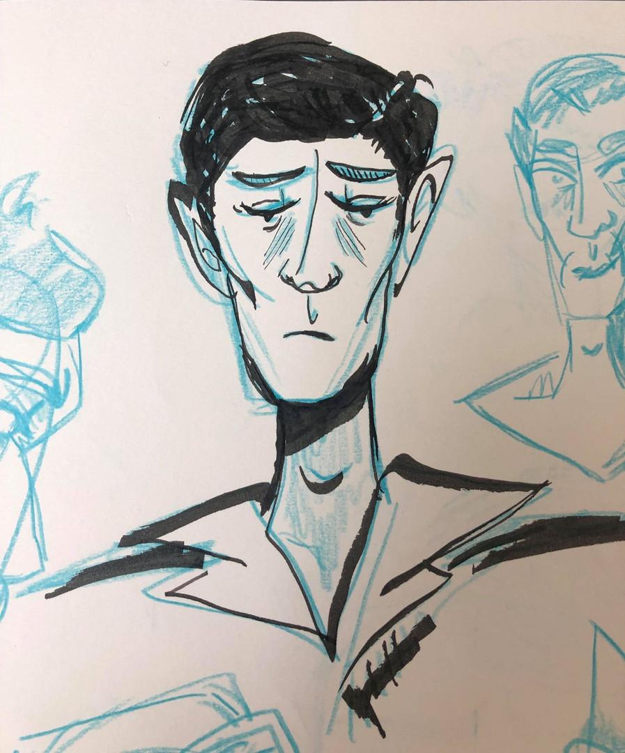 John - First sketch