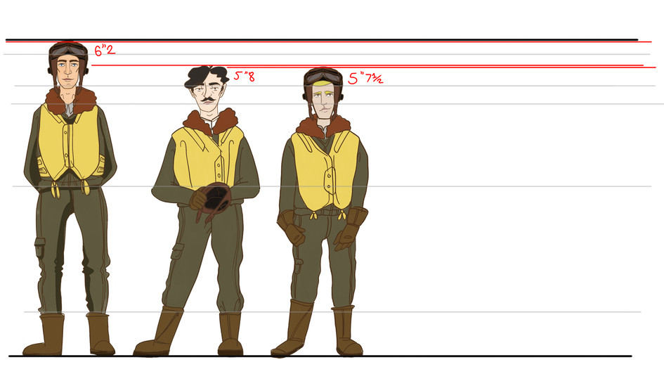 Character height chart