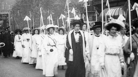 Can you name a suffragette?