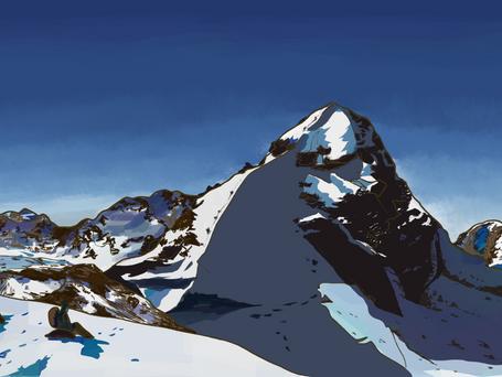 Bolivian mountains