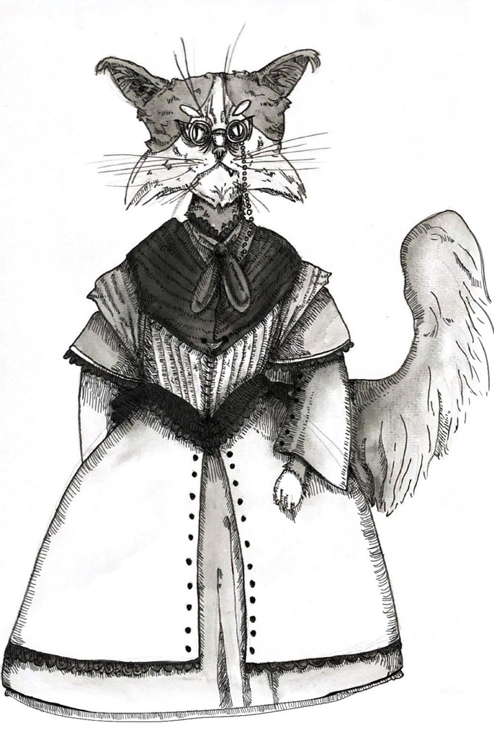 The Old Cat final design