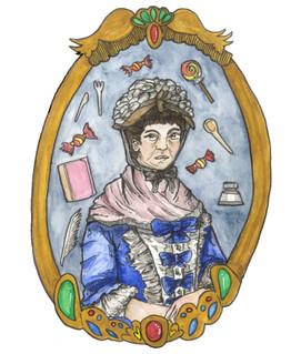 Elizabeth Raffald (watercolour)
