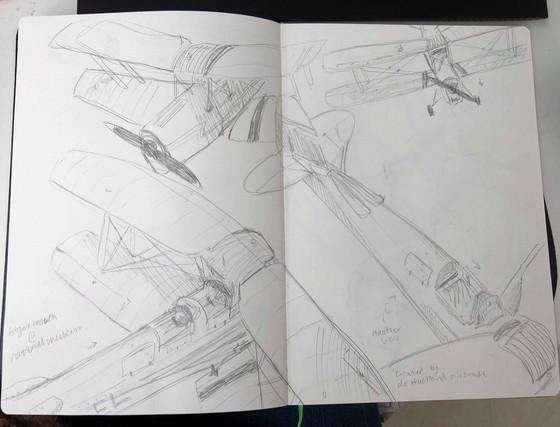 Sketching Planes.