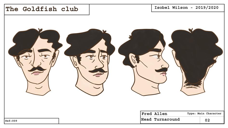 Fred head turnaround