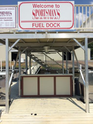 Sportsman's Marina Fuel Dock