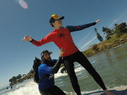 First time surfing on oxygen!