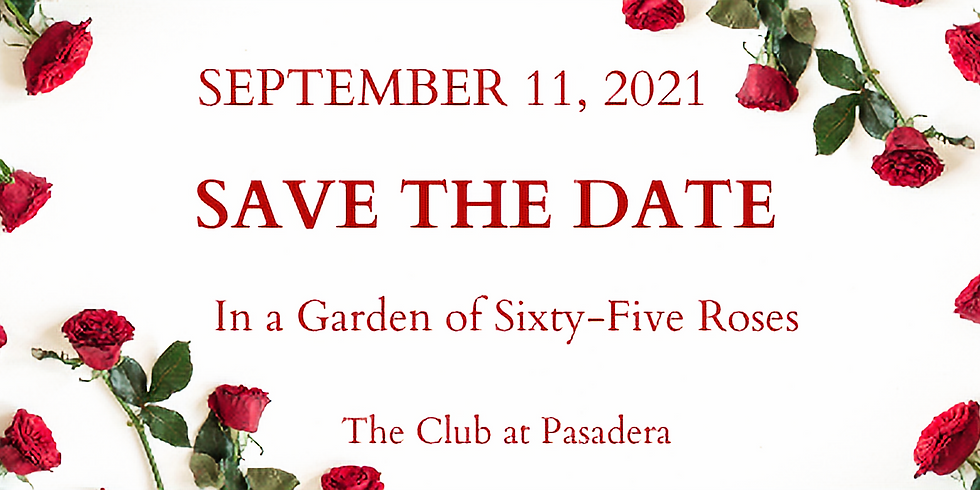 In a Garden of Sixty-Five Roses 2021